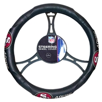 San Francisco 49ers NFL Steering Wheel Cover (14.5 to 15.5)