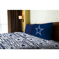 Dallas Cowboys NFL Twin Sheet Set (Anthem Series)