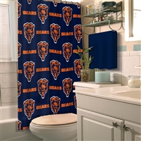 Chicago Bears NFL Shower Curtain