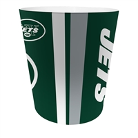 New York Jets NFL 10 Bath Waste Basket