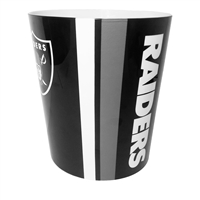 Oakland Raiders NFL 10 Bath Waste Basket