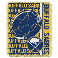 Buffalo Sabres NHL Triple Woven Jacquard Throw (Double Play Series) (48x60)