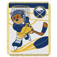 Buffalo Sabres NHL Triple Woven Jacquard Throw (Score Baby Series) (36x48)