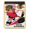 Chicago Blackhawks NHL Triple Woven Jacquard Throw (Score Baby Series) (36x48)