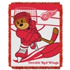 Detroit Red Wings NHL Triple Woven Jacquard Throw (Score Baby Series) (36x48)