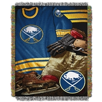 Buffalo Sabres NHL Woven Tapestry Throw (Vintage Series) (48x60)