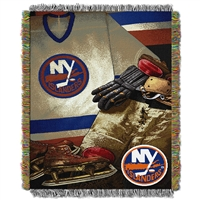 New York Islanders NHL Woven Tapestry Throw (Vintage Series) (48x60)