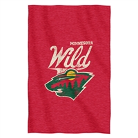 Minnesota Wild NHL Sweatshirt Throw