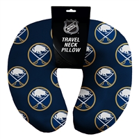 Buffalo Sabres NHL Beadded Spandex Neck Pillow (12in x 13in x 5in)
