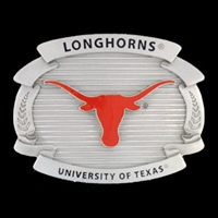 Texas Longhorns College Oversized Belt Buckle