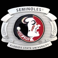 Florida State FSU Seminoles College Oversized Belt Buckle