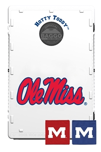 University of Mississippi Ole Miss Rebels Bag Toss Game by Baggo
