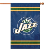 Utah Jazz NBA Appliqué Banner Flag