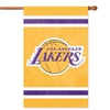 Los Angeles Lakers NBA Applique Banner Flag (44x28)