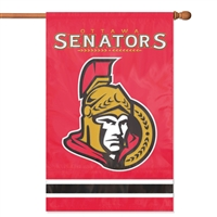 Ottawa Senators NHL Appliqué Banner Flag