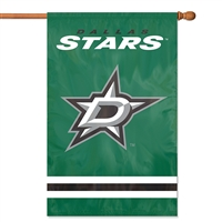 Dallas Stars NHL Appliqué Banner Flag