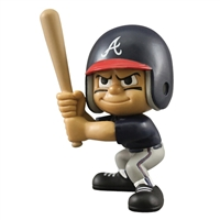 Atlanta Braves MLB Lil Teammates Vinyl Batter Sports Figure (2 3/4inches Tall) (Series 2)
