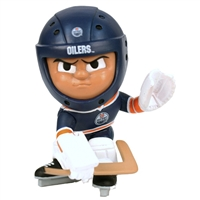 Edmonton Oilers NHL Lil Teammates Vinyl Goalie Sports Figure (2 3/4 Tall) (Series 2)