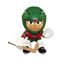 Minnesota Wild NHL Lil Teammates Vinyl Goalie Sports Figure (2 3/4 Tall) (Series 2)