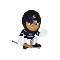 Winnipeg Jets NHL Lil Teammates Vinyl Goalie Sports Figure (2 3/4 Tall) (Series 3)