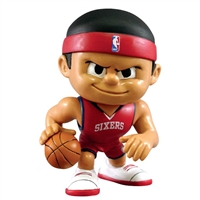 Philadelphia 76ers NBA Lil Teammates Vinyl Playmaker Sports Figure (2 3/4 Tall)