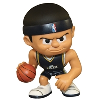 Utah Jazz NBA Lil Teammates Vinyl Playmaker Sports Figure (2 3/4 Tall) (Series 2)