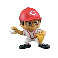 Cincinnati Reds MLB Lil Teammates Vinyl Pitcher Sports Figure (2 3/4 Tall) (Series 2)