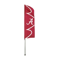 Alabama Crimson Tide NCAA Swooper Flag w/ Pole