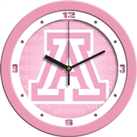 "Arizona Wildcats 12"" Wall Clock - Pink"