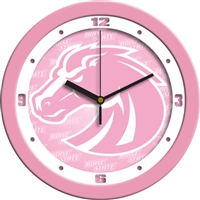 "Boise State Broncos 12"" Wall Clock - Pink"