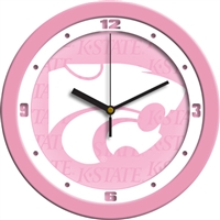 "Kansas State Wildcats 12"" Wall Clock - Pink"