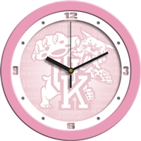 "Kentucky Wildcats 12"" Wall Clock - Pink"