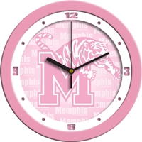 "Memphis Tigers 12"" Wall Clock - Pink"