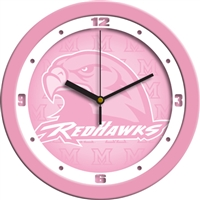 "Miami University Ohio Redhawks 12"" Wall Clock - Pink"
