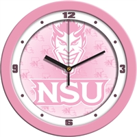 "Northwestern State Demons 12"" Wall Clock - Pink"