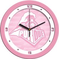 "Purdue Boilermakers 12"" Wall Clock - Pink"