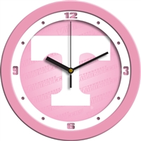"Tennessee Volunteers 12"" Wall Clock - Pink"