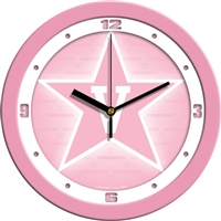 "Vanderbilt Commodores 12"" Wall Clock - Pink"