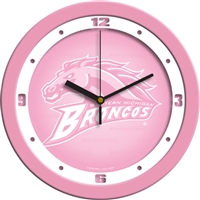 "Western Michigan Broncos 12"" Wall Clock - Pink"