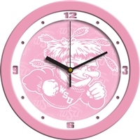 "Wichita State Shockers 12"" Wall Clock - Pink"