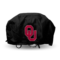 Oklahoma Sooners NCAA Economy Barbeque Grill Cover