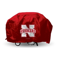 Nebraska Cornhuskers NCAA Economy Barbeque Grill Cover