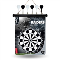 Rico Industries Oakland Raiders NFL Magnetic Dart Board