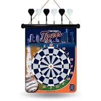 Detroit Tigers MLB Magnetic Dart Board