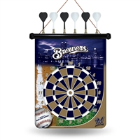 Milwaukee Brewers MLB Magnetic Dart Board