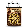 Wyoming Cowboys NCAA Magnetic Dart Board