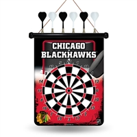Chicago Blackhawks NHL Magnetic Dart Board