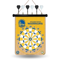 Golden State Warriors NBA Magnetic Dart Board