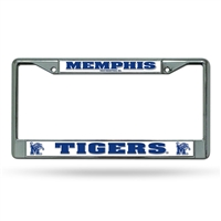 Memphis Tigers NCAA Chrome License Plate Frame