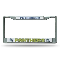 Pittsburgh Panthers NCAA Chrome License Plate Frame